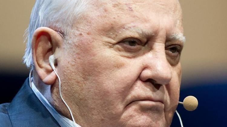 Der ehemalige Präsident der Sowjetunion, Michail Gorbatschow, in Berlin. Foto: Marc Tirl