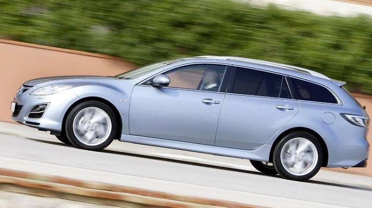 Der Mazda6 gilt unter Kfz-Experten als solides Modell - allerdings rostet er schnell und hat häufig Batterieprobleme. Foto: Mazda