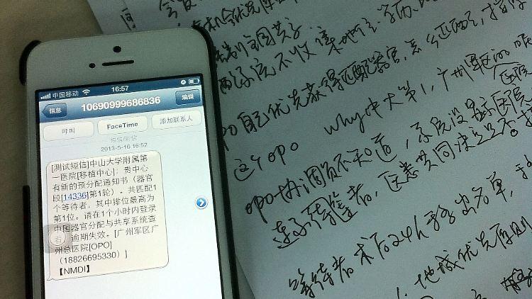 neues programm vermittelt herz und nieren per sms organe hingerichteter in china bald tabu n