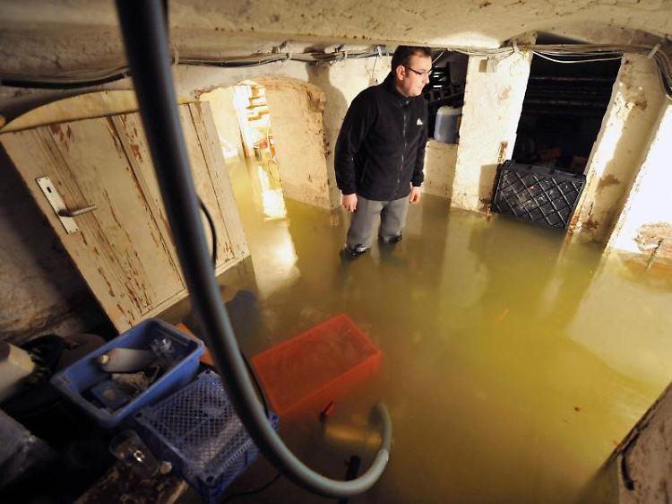 Beweismaterial Sichern Hochwasserschaden Nicht Schnell Beheben N