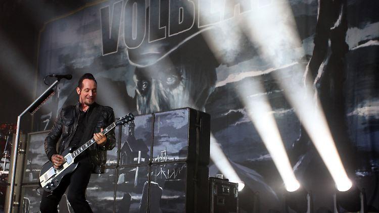 Nicht Nur 15 Minuten Ruhm Volbeat Die Neue Elite Des Rock N Tvde