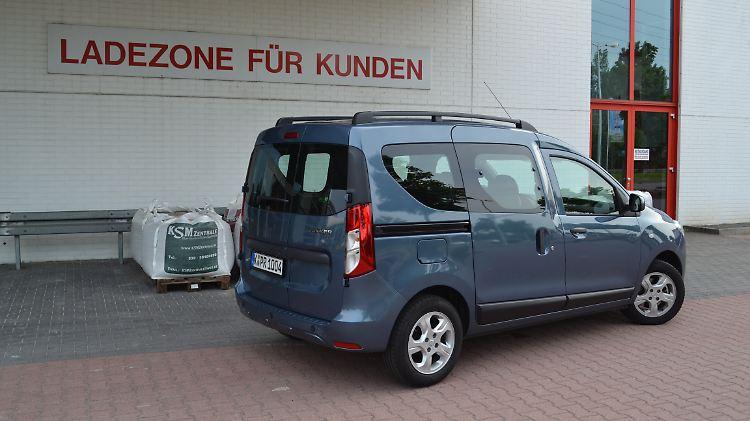 Test Dacia Dokker Dci 90 Laureate Der Kumpel Der Rumpelt N Tvde