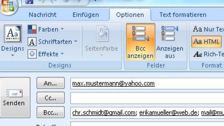 Cc Email Bedeutung