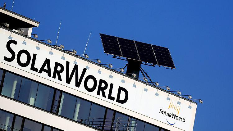 Solarworld droht die Pleite.
