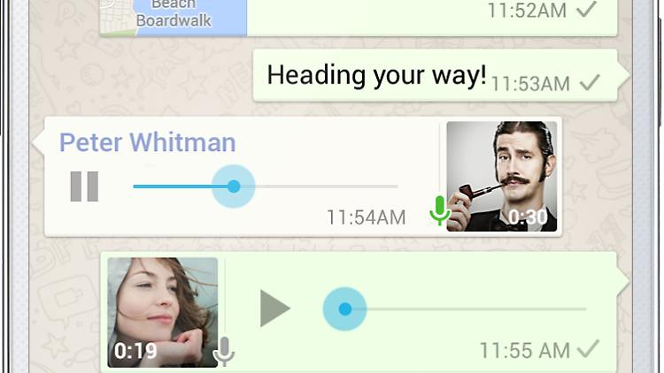 Sprachnachricht Bei Whatsapp
