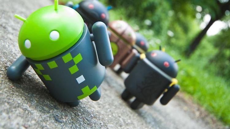 Ein Androide kommt zu Fall: Googles Betriebssystem gerät immer öfter ins Visier von Computer-Kriminellen. Foto: Andrea Warnecke