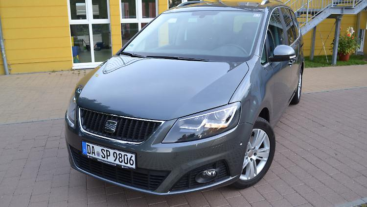test seat alhambra style 2 0 tdi der bessere sharan n. Black Bedroom Furniture Sets. Home Design Ideas