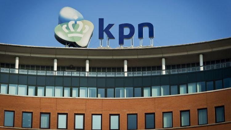 Das KPN-Hauptquartier in Den Haag.