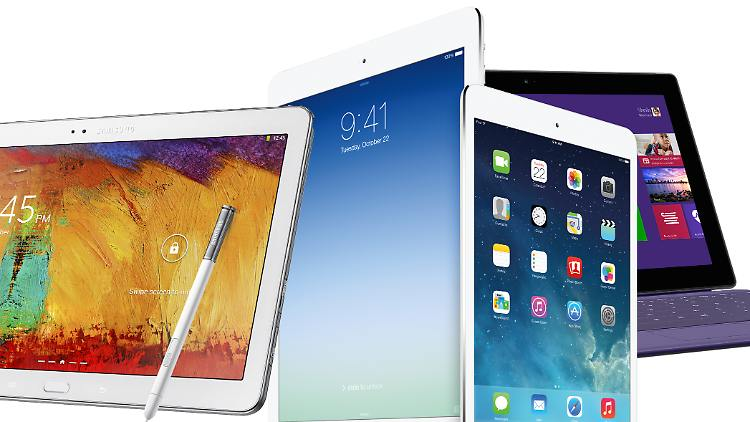 top tablets bei stiftung warentest ipad air oder galaxy. Black Bedroom Furniture Sets. Home Design Ideas