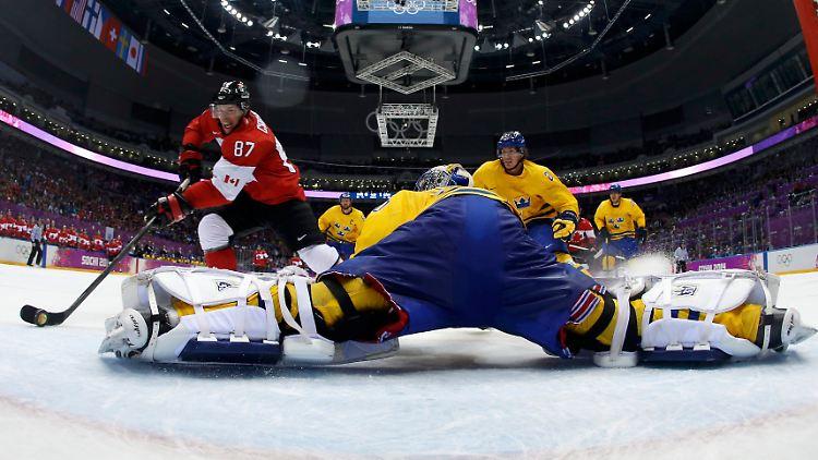 Endspiel Eishockey Olympia 2021