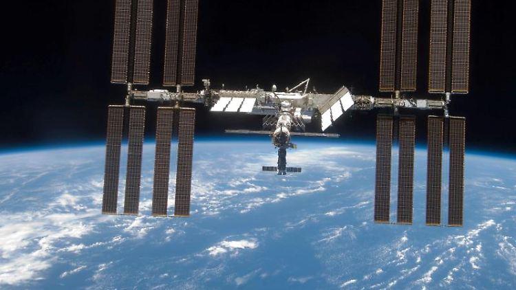 Die ISS umrundet die Erde etwa alle eineinhalb Stunden. Foto: Nasa