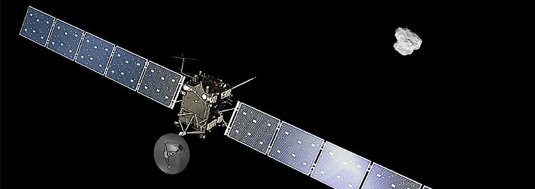 Themenseite: Raumsonde Rosetta
