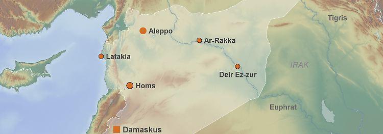 Themenseite: Krieg in Syrien