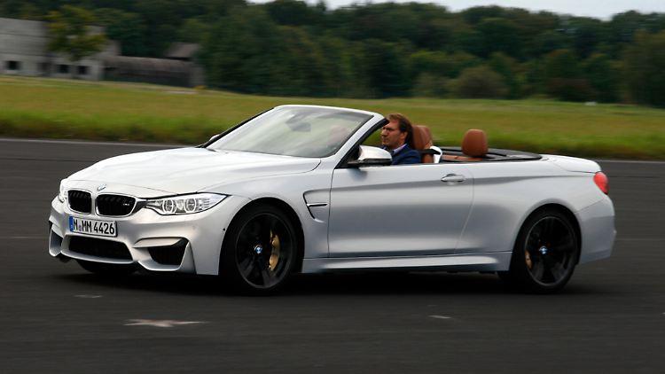 Höchster Spaßfaktor Im M4 Cabrio Bmw Komplettiert Sportfamilie N
