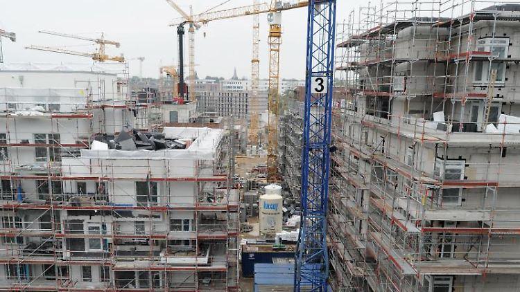 Der Boom im deutschen Wohnungsbau hält an. Foto: Angelika Warmuth