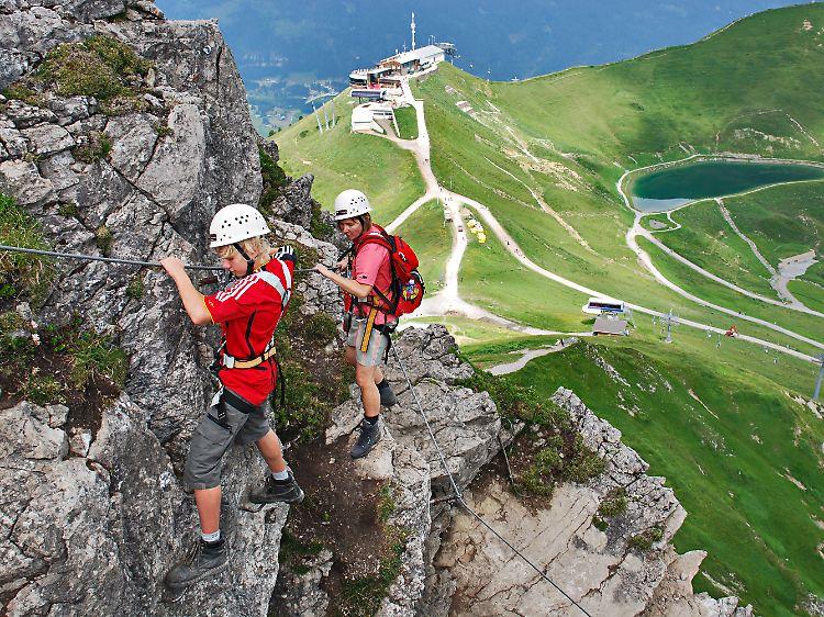 Mindelheimer Klettersteig Unfall : Gesicherter nervenkitzel: klettersteige immer beliebter n tv.de