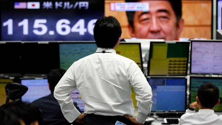 japan börse tokyo  Shinzo Abe.jpg