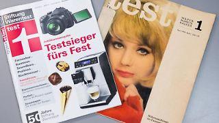 50 Jahre Stiftung Warentest: Seither wurden in 5500 Tests etwa 100000 Produkte geprüft. Hinzu kommen 2500 Tests von Dienstleistungen. Foto: Lukas Schulze