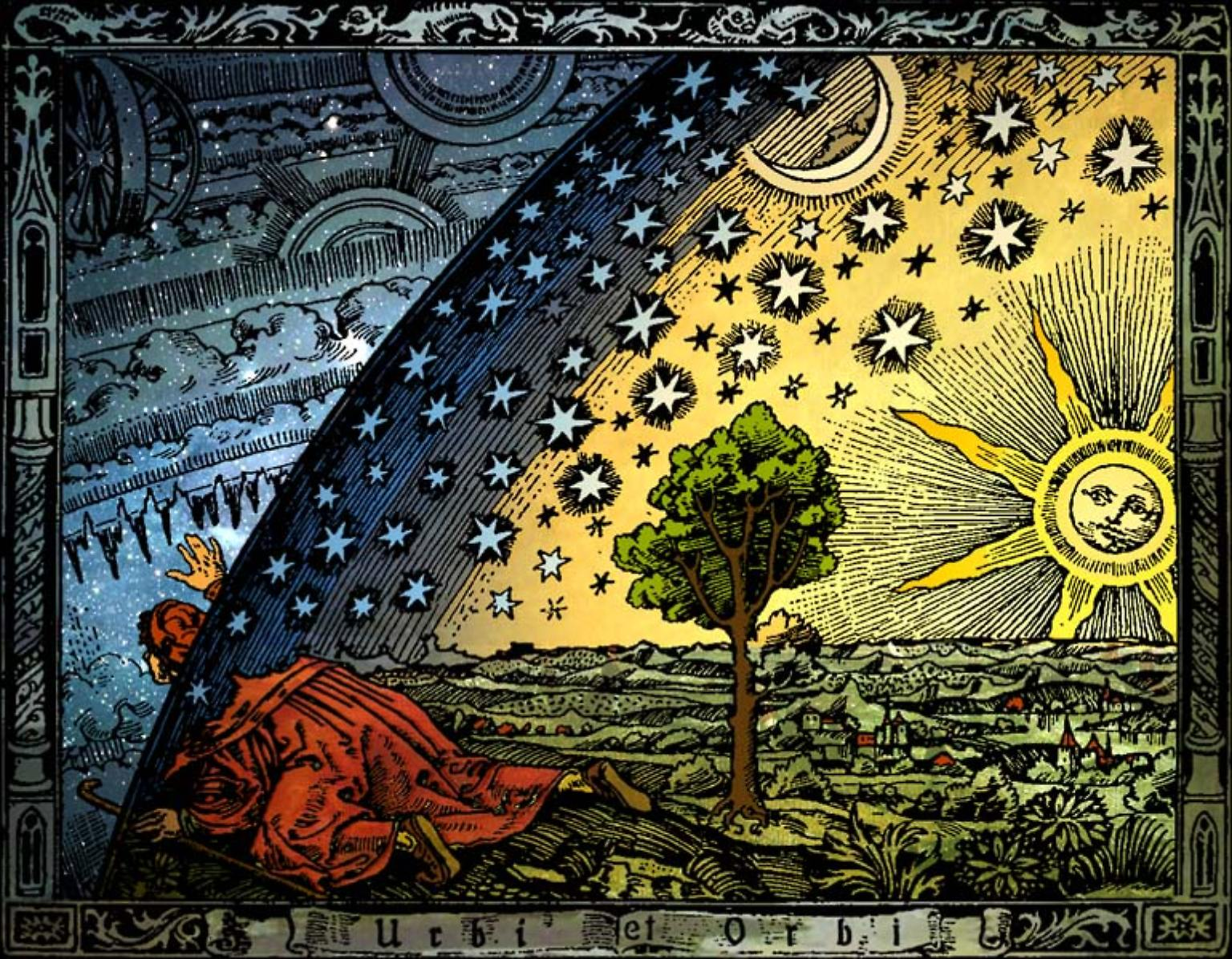 Flammarions Holzstich.jpg