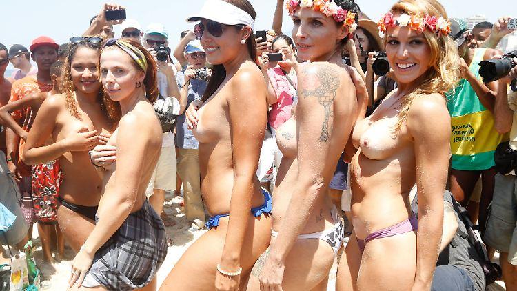 Nackte brasilianische frauen