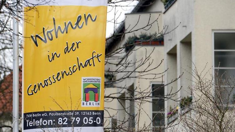 Wohnen in der Genossenschaft kann eine Alternative zum Kauf sein. Angst vor einer Eigenbedarfskündigung müssen Bewohner hier nicht haben. Foto: Jens Kalaene