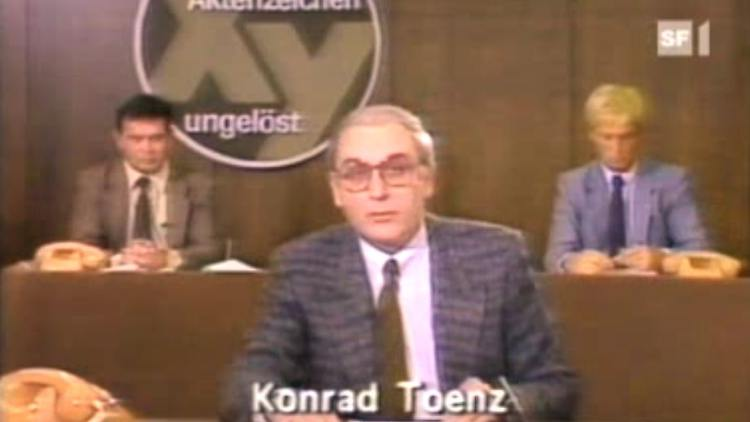 Aktenzeichen Xy Ungelöst Konrad Toenz Ist Tot N Tvde