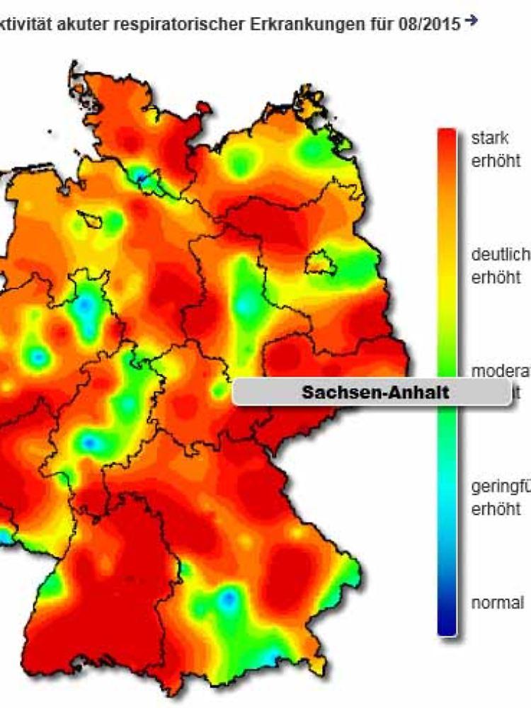 Grippe Karte.Schwerer Als Im Letzten Jahr Grippe Plagt Die Ganze Republik N Tv De
