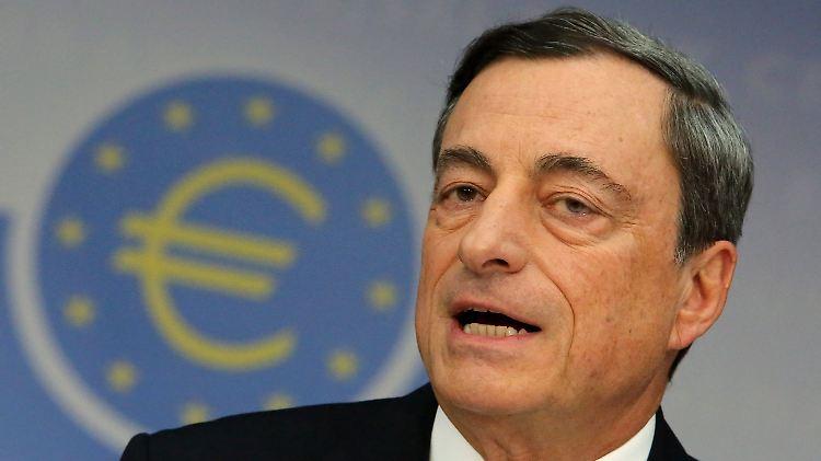 EZB-Präsident Mario Draghi will mit der Maßnahme die Konjunktur im Euro-Raum anschieben.