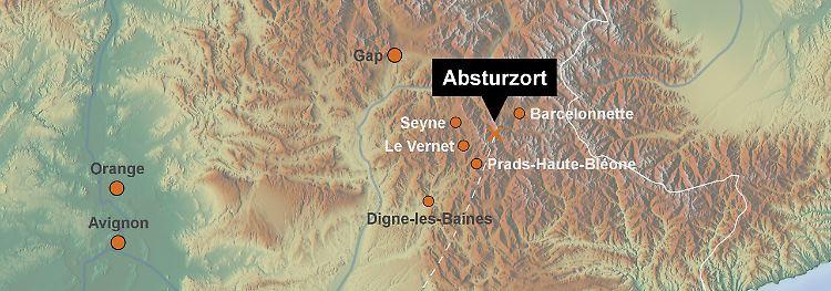 A320-Absturz: Germanwings-Flug 4U9525