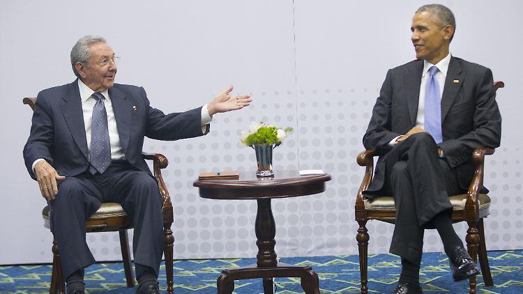 """""""Es gab keine Spannungen"""": USA und Kuba nach Treffen zuversichtlich"""