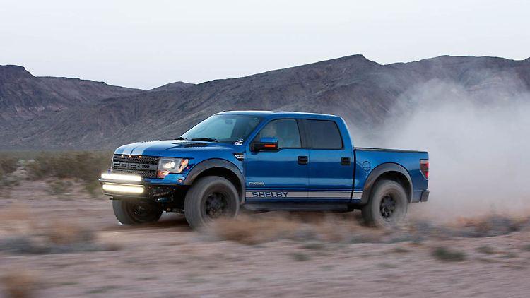 die pick-up-kampfmaschine: ford f-150 wird zum shelby baja 700 - n-tv.de