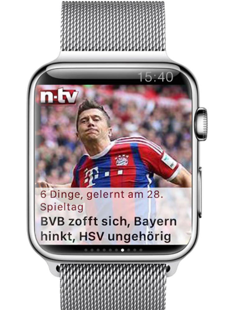 Die Apple Watch ist da