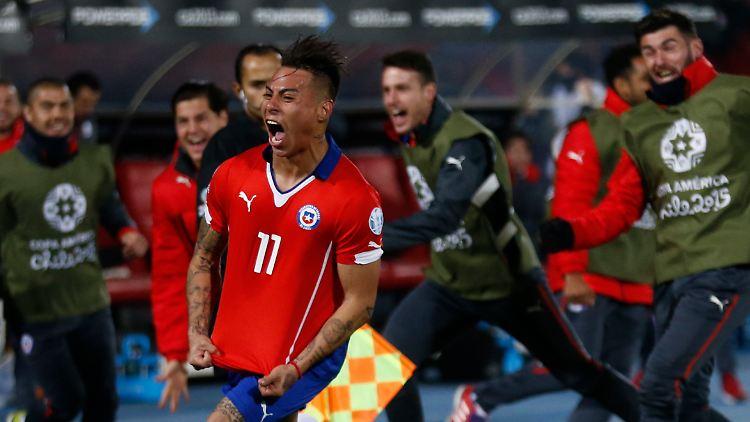 Gastgeber Im Finale Der Copa Chile Schlägt Peru Trotz Eigentor