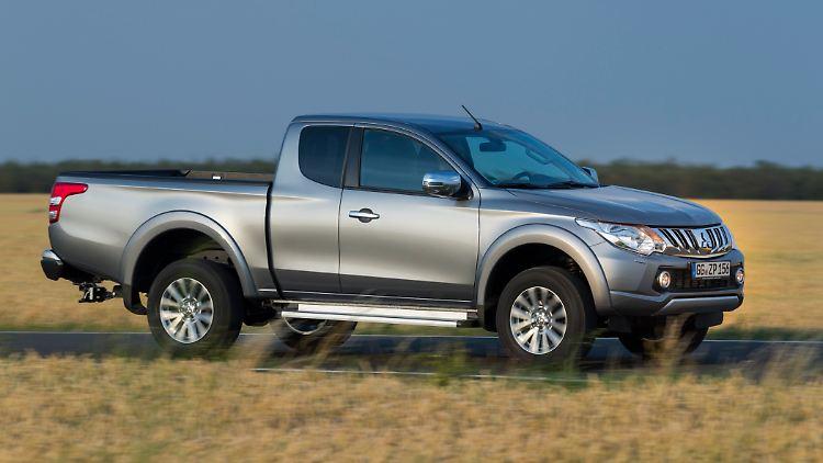 neue pick-up-generation: dem mitsubishi l200 ist nichts zu schwer