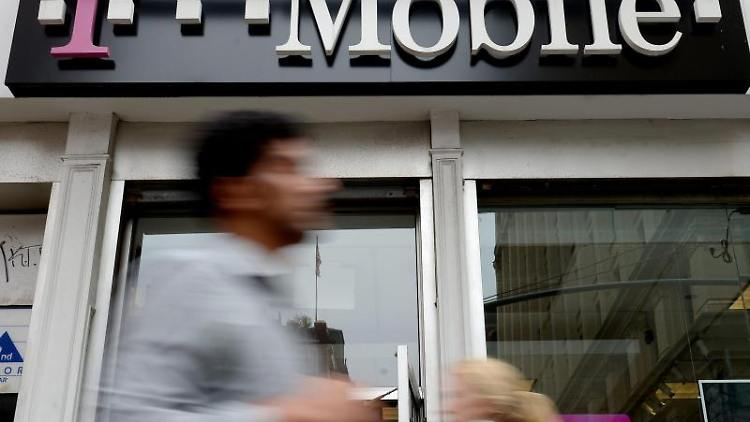 Opfer einer heftigen Cyber-Attacke: T-Mobile US. Foto: Justin Lane/Archiv