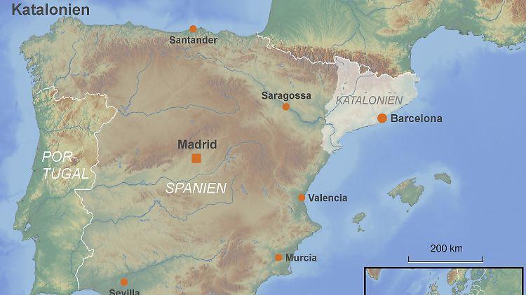 Spanien Katalonien Karte.Parlament Will Abspaltung Katalanen Machen Ernst N Tv De
