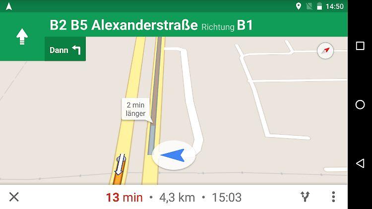 Nach Update endlich möglich: So navigiert Google Maps auch offline on