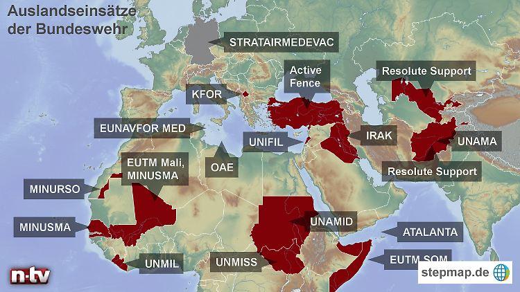 Auslandseinsätze bundeswehr stepmap-karte-auslandseinsaetze-der-bundeswehr-1582456.jpg