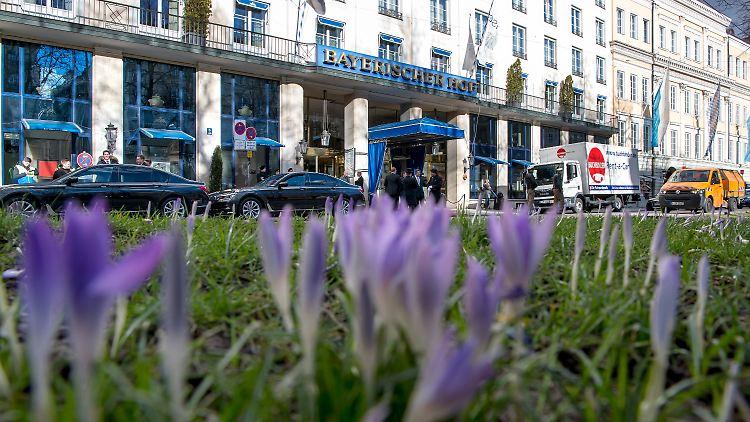 Münchner Sicherheitskonferenz im Hotel