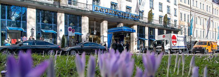 """Münchner Sicherheitskonferenz im Hotel """"Bayerischer Hof"""""""