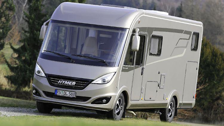 Neues Wohnmobil Von Hymer Die Schwere Leichtigkeit Der B Klasse N