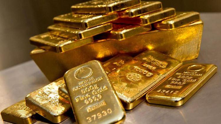 Mit Gold hinterlegte Wertpapiere können eine gute Anlage sein. Foto: Sven Hoppe