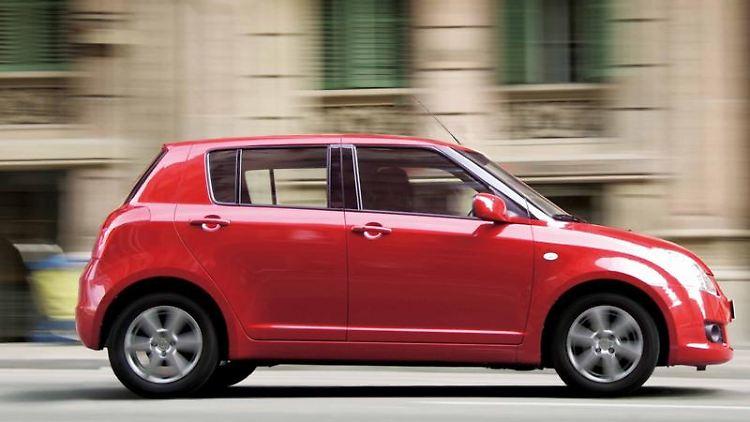 Ein Vorbild namens Swift: Der Kleinwagen von Suzuki wird vom ADAC als einer der zuverlässigsten Vertreter seiner Klasse gelobt. (Bild: Suzuki/dpa/tmn)