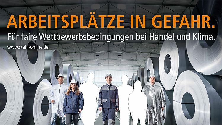 Wirtschaftsvereinigung Stahl - Arbeitsplätze in Gefahr.png