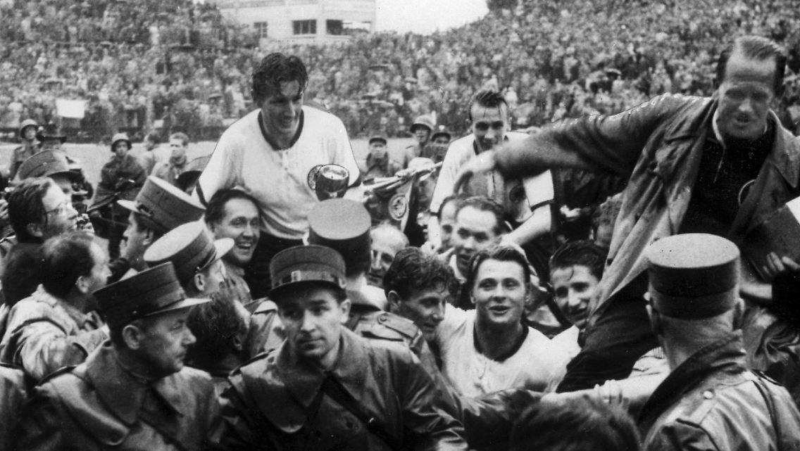 Panzerschokolade Fur Den Sieg Weltmeister Von 1954 Gedopt
