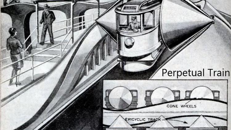 Es Rollt Und Rollt Für Immer Der Große Traum Vom Perpetuum Mobile