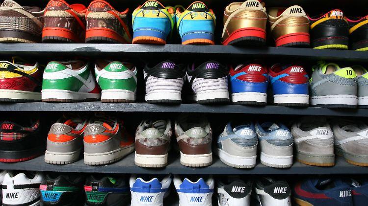 Sneaker als Geldanlage: Vom großen Geschäft mit seltenen