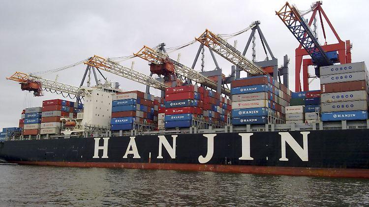 Hanjin muss einen Sanierungsplan vorlegen, danach entscheidet das Gericht über die Zukunft der Reederei.