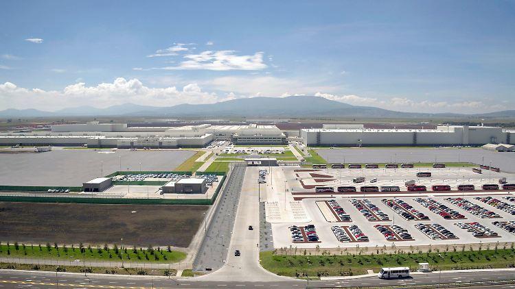 Der Audi-Standort San José Chiapa: Ein hochmodernes Werk auf 460 Hektar mit rund 4200 Beschäftigten.