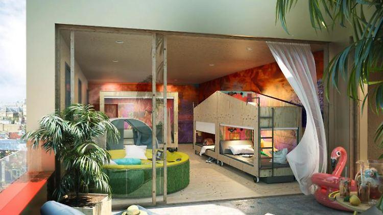 Zimmer bei «JO&JOE» von Accor